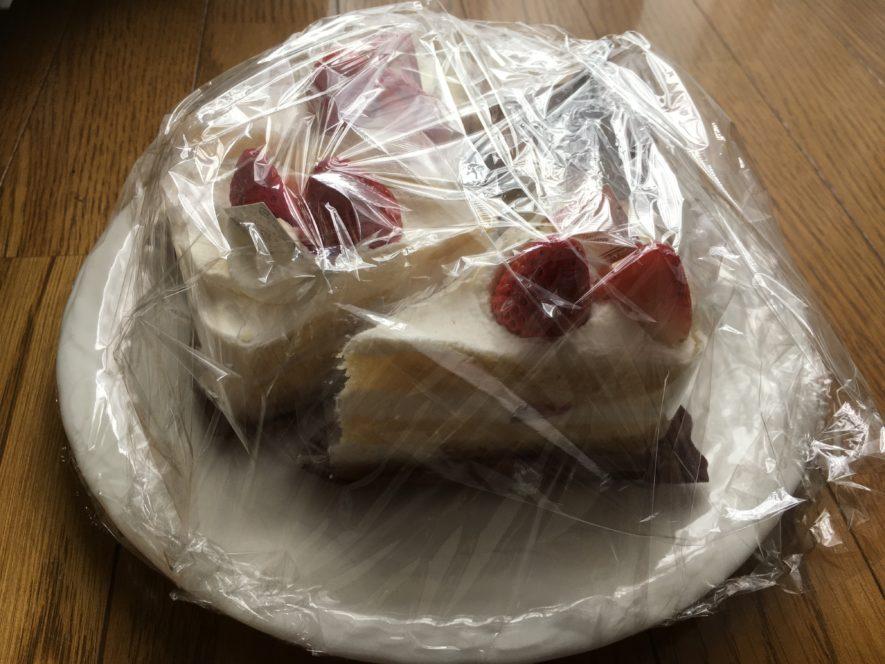 ケーキ保存方法