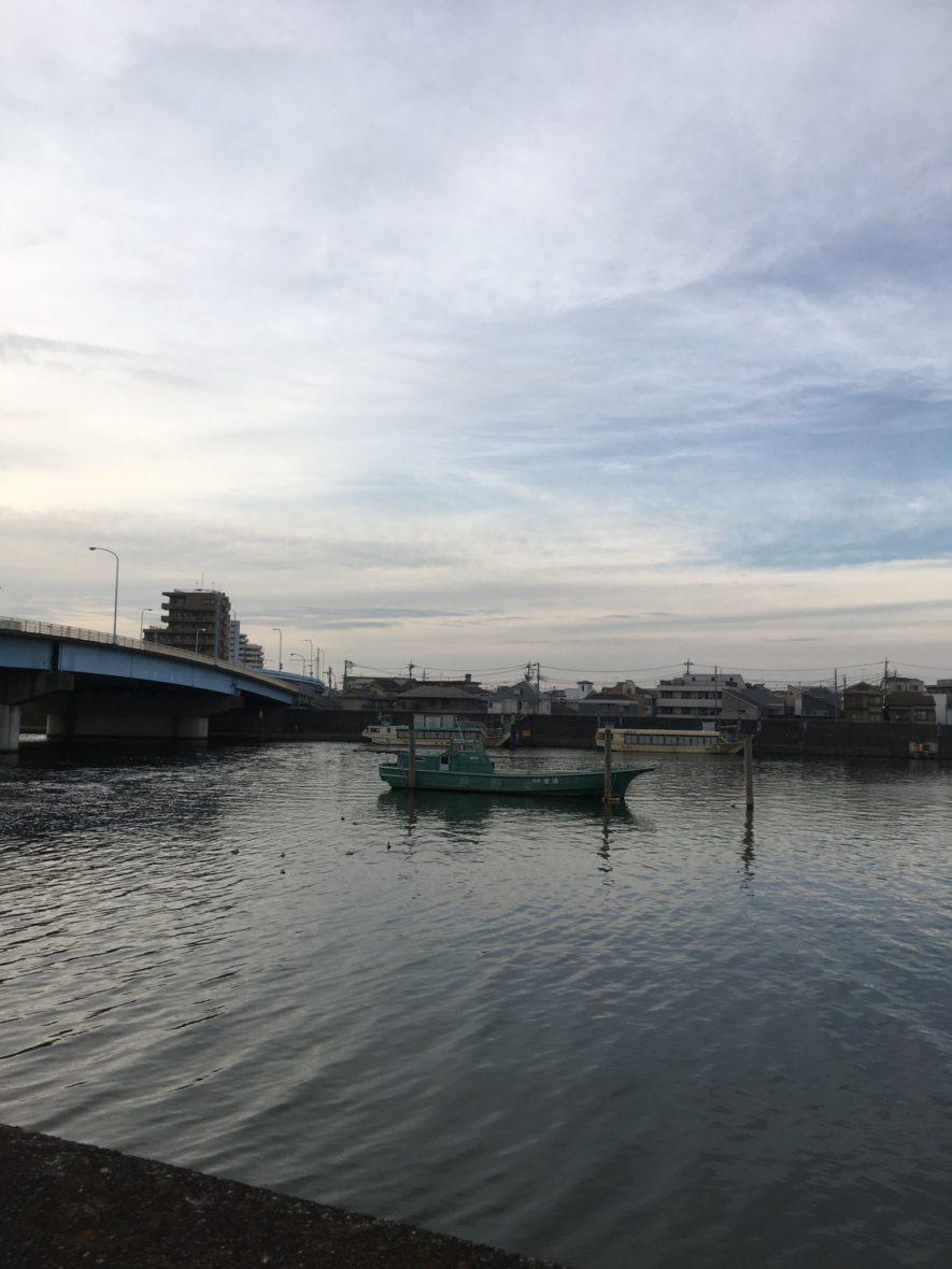 旧江戸川沿いのランニングコース