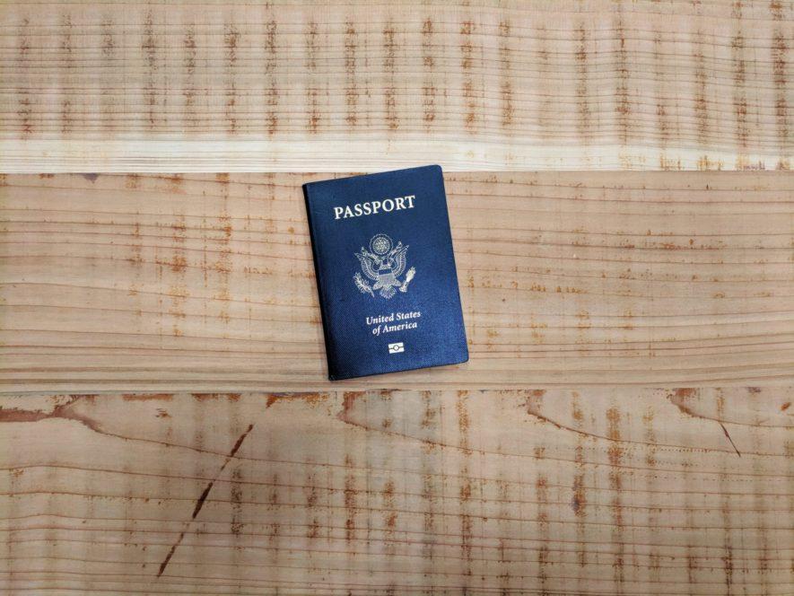 海外パスポート紛失