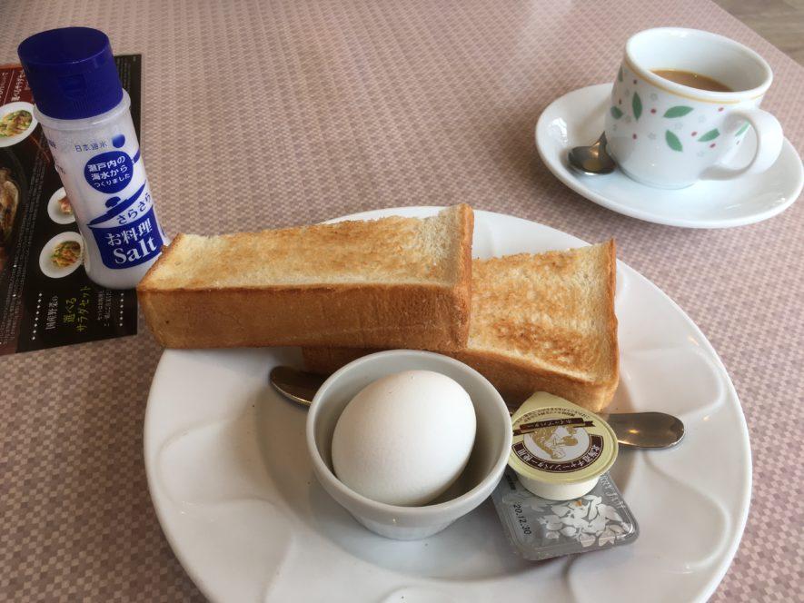 デニーズ朝食
