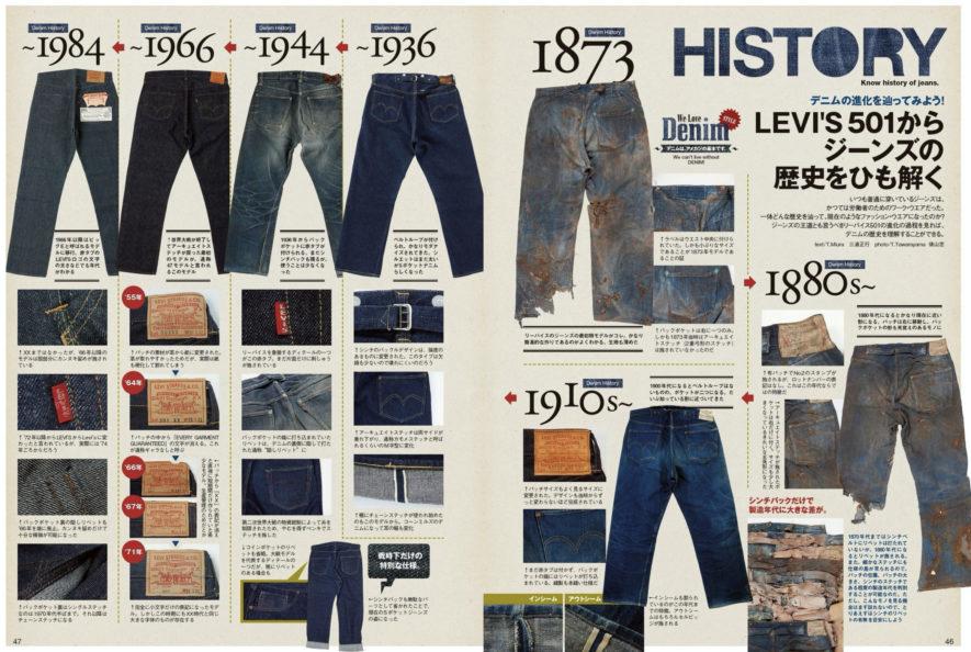 リーバイスの歴史