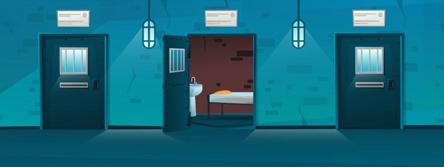 刑務所なう