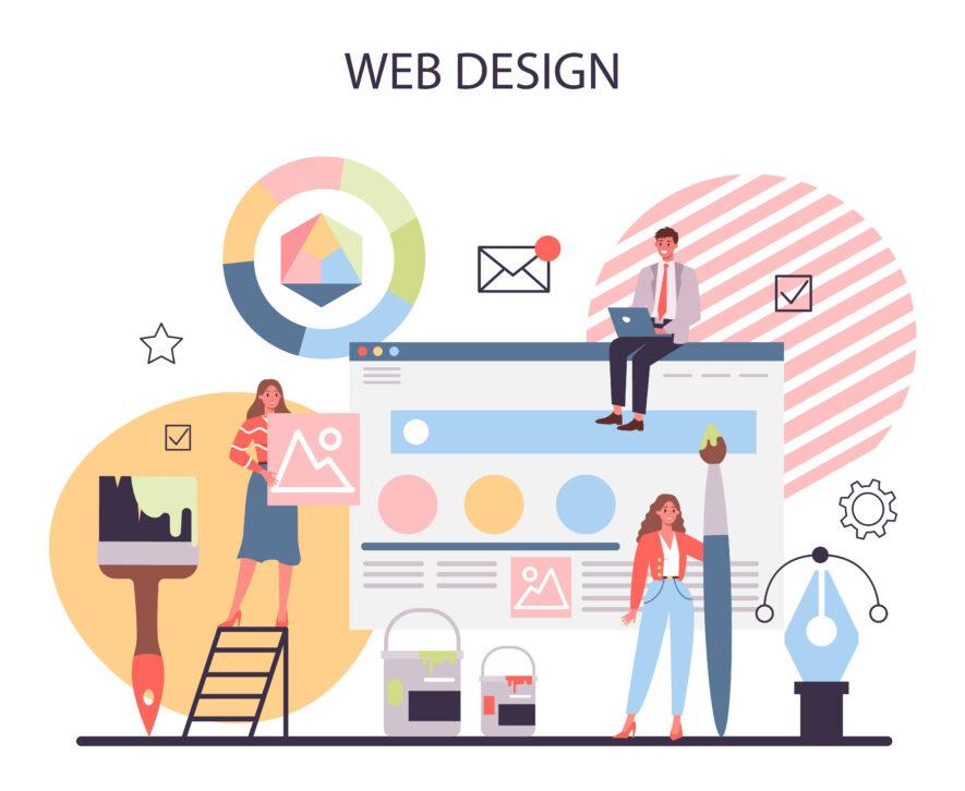 職業訓練Web Design